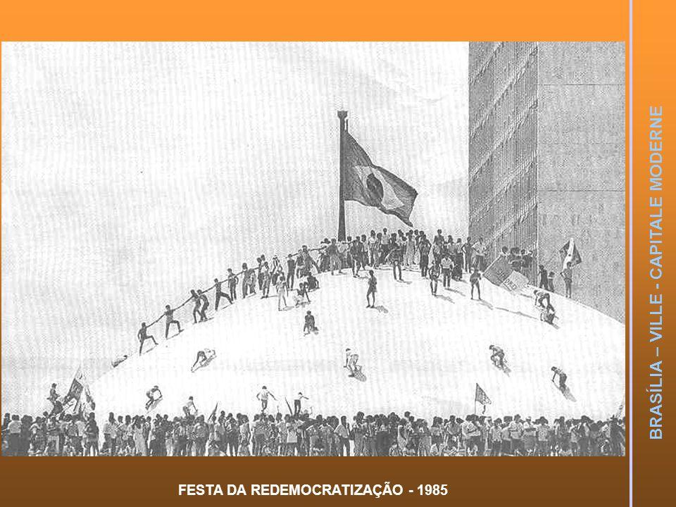 FESTA DA REDEMOCRATIZAÇÃO - 1985