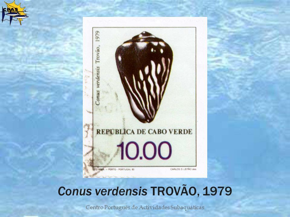 Centro Português de Actividades Subaquáticas Conus verdensis TROVÃO, 1979