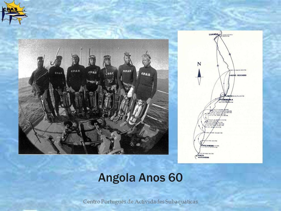 Centro Português de Actividades Subaquáticas Angola Anos 60
