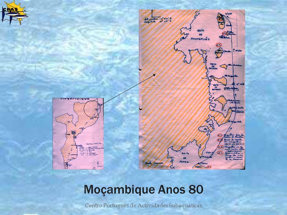 Centro Português de Actividades Subaquáticas Moçambique Anos 80