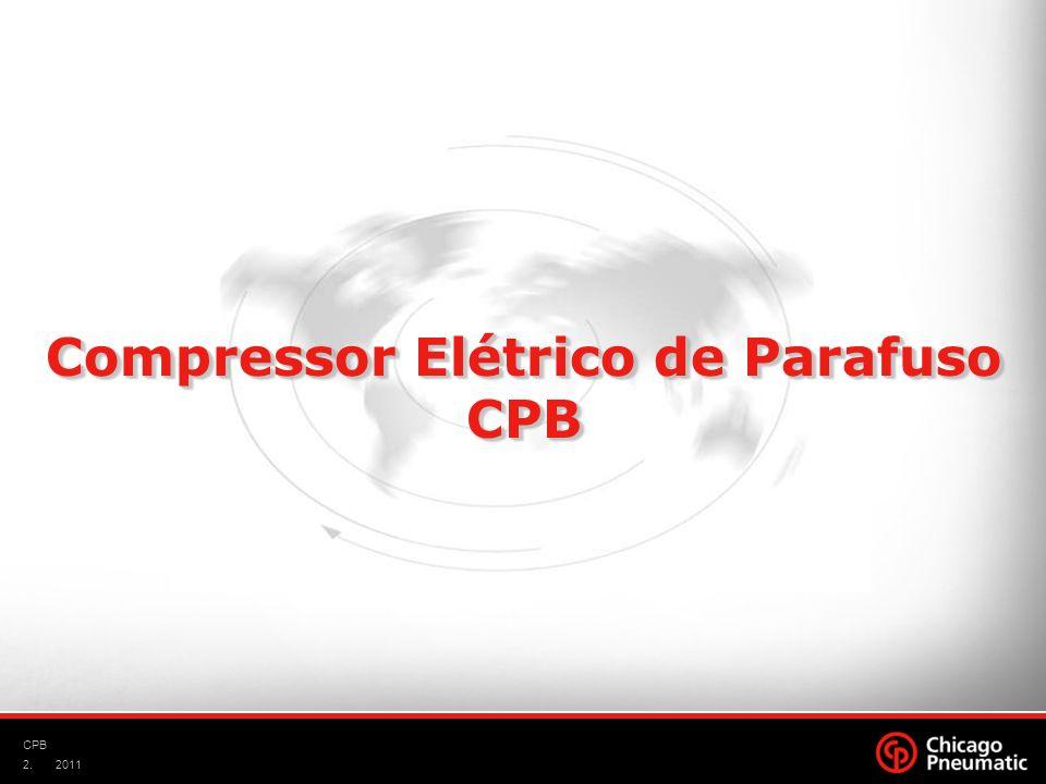 2. CPB 2011 Compressor Elétrico de Parafuso CPB CPB