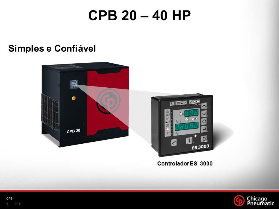 4. CPB 2011 Controlador ES 3000 Simples e Confiável CPB 20 – 40 HP
