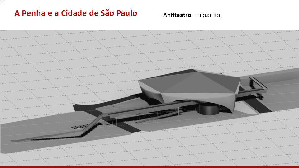 x A Penha e a Cidade de São Paulo - Anfiteatro - Tiquatira;