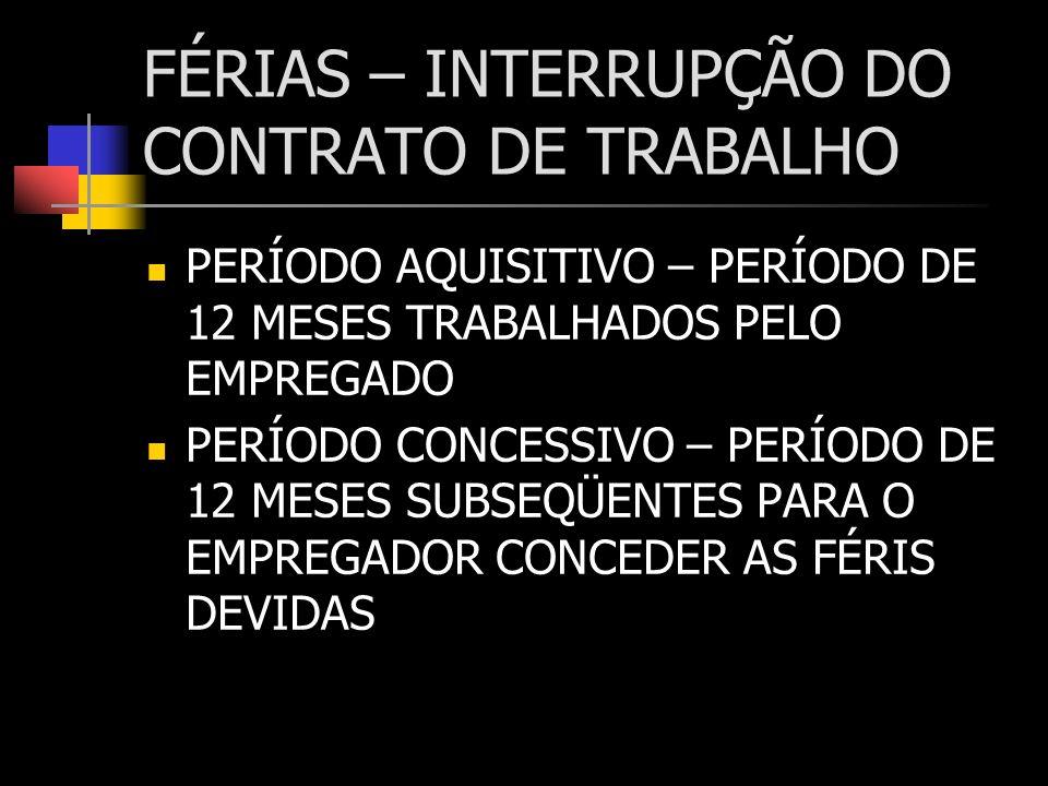 RESCISÃO DEVER DO EMPREGADOR: ANOTAR A CTPS; PAGAR SALDO DE SALÁRIO, COMISSÕES; 13º S.