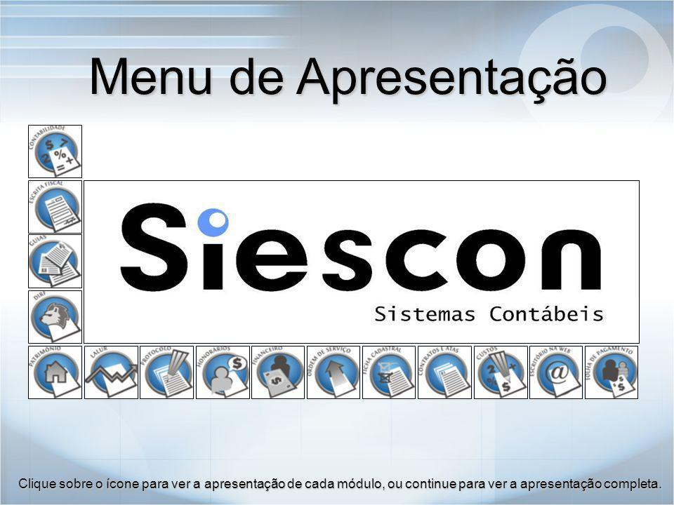 O módulo Contratos e Atas Siescon foi desenvolvido para emitir Contratos das empresas e registrar as Atas de reuniões.
