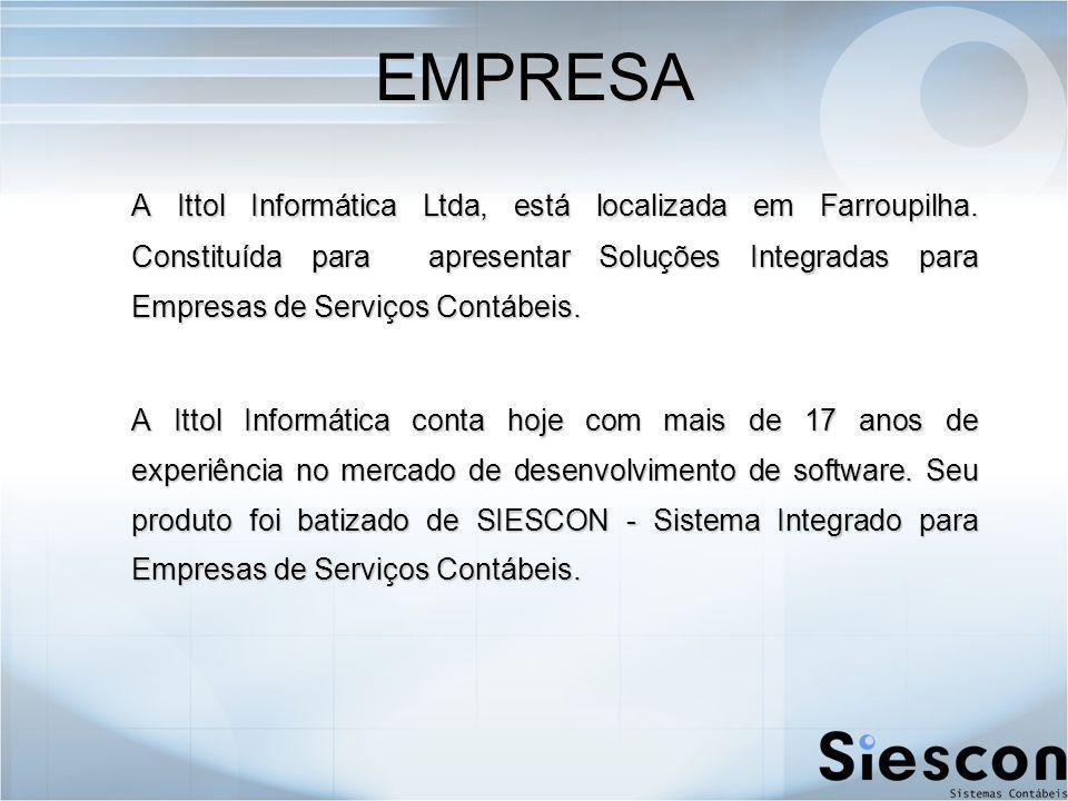 EMPRESA A Ittol Informática Ltda, está localizada em Farroupilha.