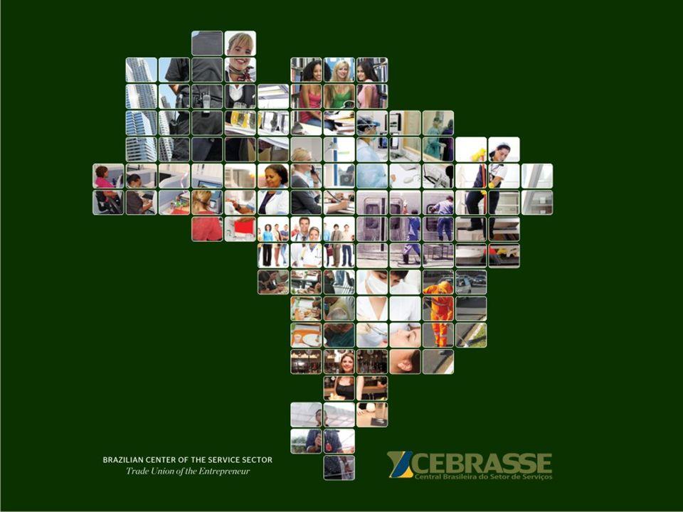 A CEBRASSE Missão Representar o Setor de Serviços, promovendo o seu desenvolvimento, valorização, visibilidade e credibilidade.