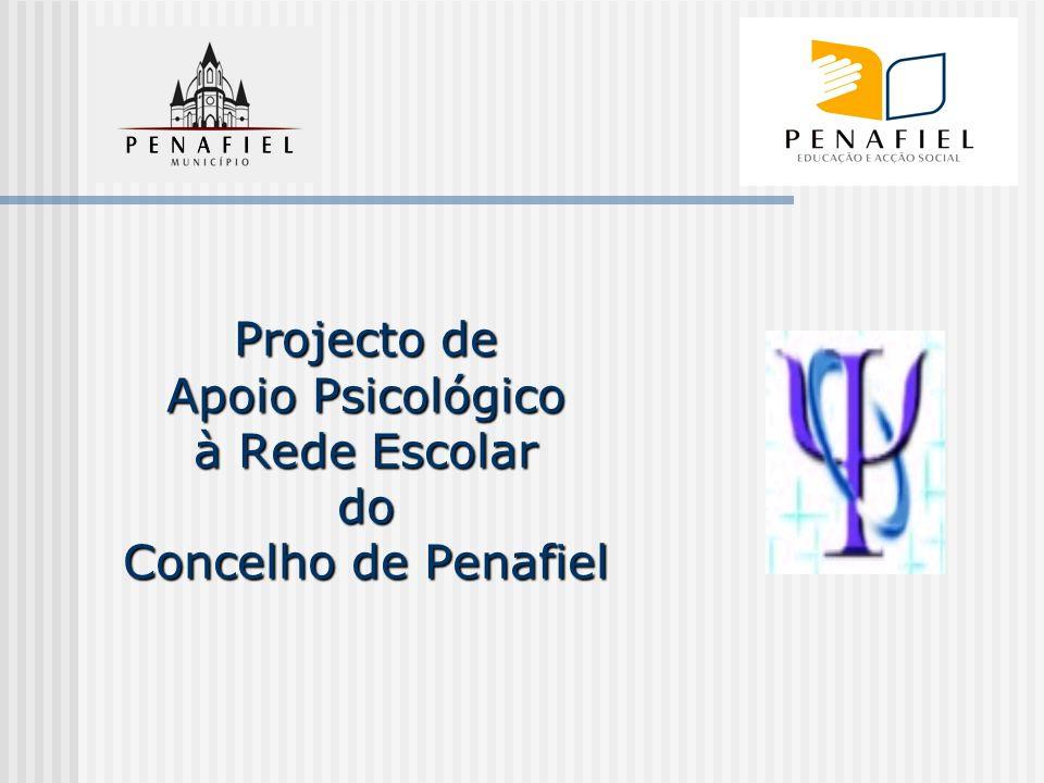 Projecto de Apoio Psicológico à Rede Escolar do Concelho de Penafiel