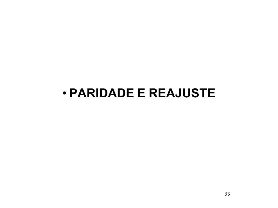 PARIDADE E REAJUSTE 33