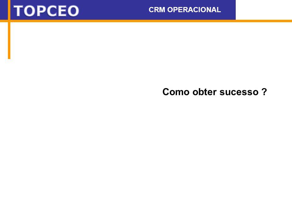 Como obter sucesso ? CRM OPERACIONAL WWW.DEAK.COM.BR