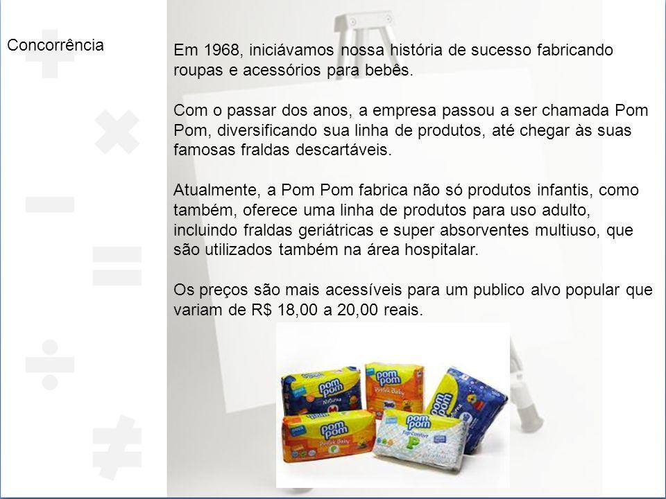 Objetivo do marketing A pampers é uma empresa que atende vários estabelecimentos desde farmácia a supermercado como Onofre, Magazine Luiza, Wal-Mart, entre outro.
