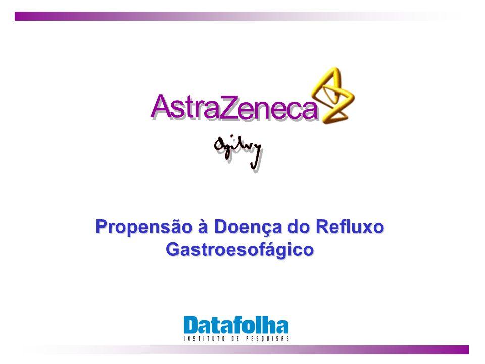1 A A s s t t r r a a Z Z e e n n e e c c a a Propensão à Doença do Refluxo Gastroesofágico