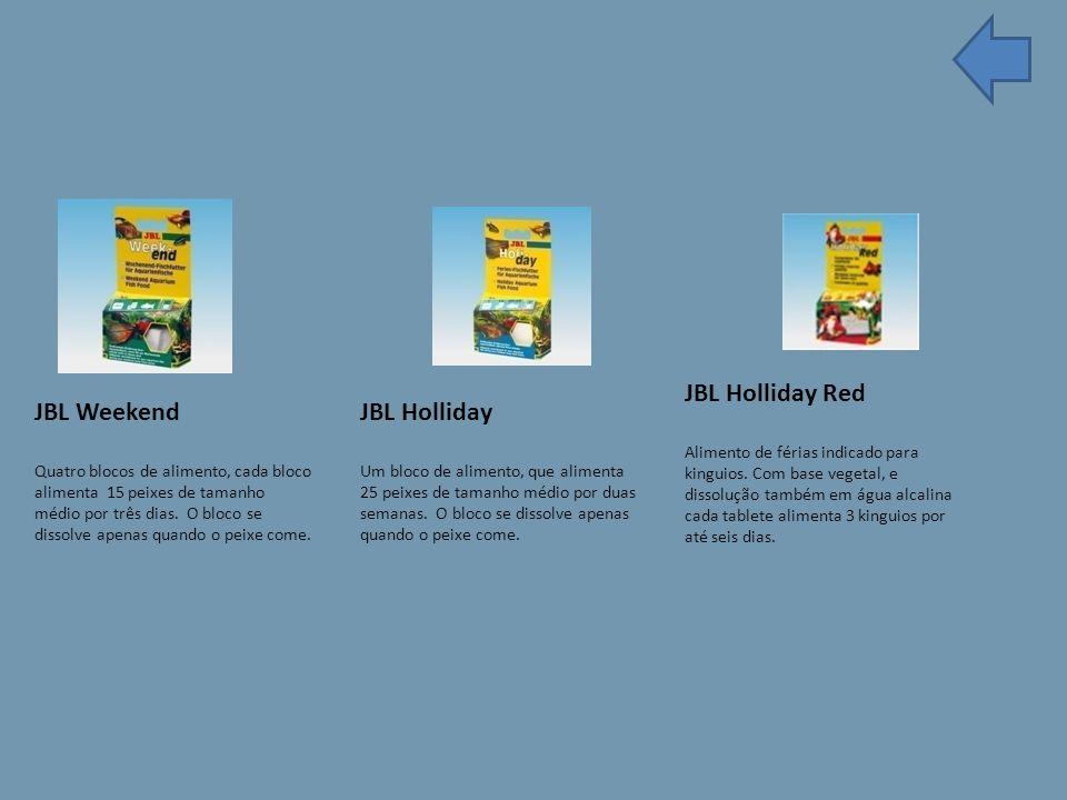 JBL Holliday Red Alimento de férias indicado para kinguios.