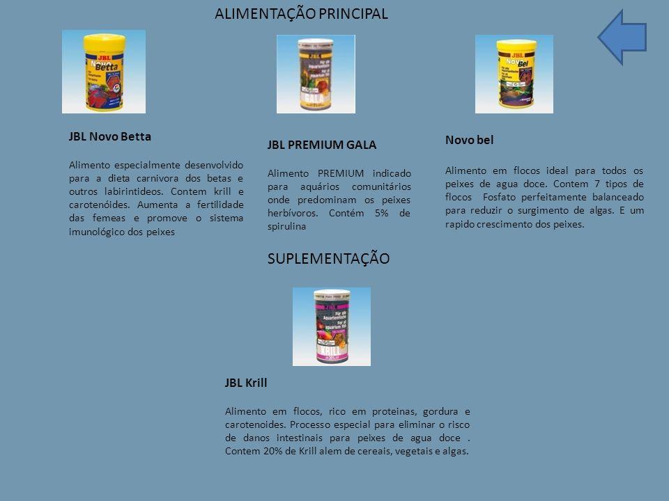 JBL Novo Betta Alimento especialmente desenvolvido para a dieta carnivora dos betas e outros labirintideos.