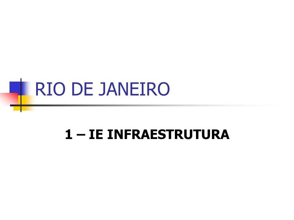 RIO DE JANEIRO 1 – IE INFRAESTRUTURA