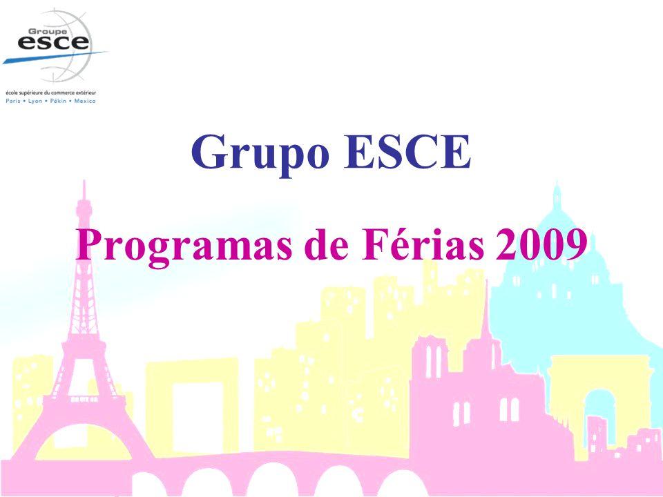 Curso Intensivo de Francês & Programa Cultural Duração: de 29 junho a 23 de julho de 2009 (4 semanas) Níveis : Básico Intermediário Carga horária:50 horas presenciais 20 horas de passeios & atividades