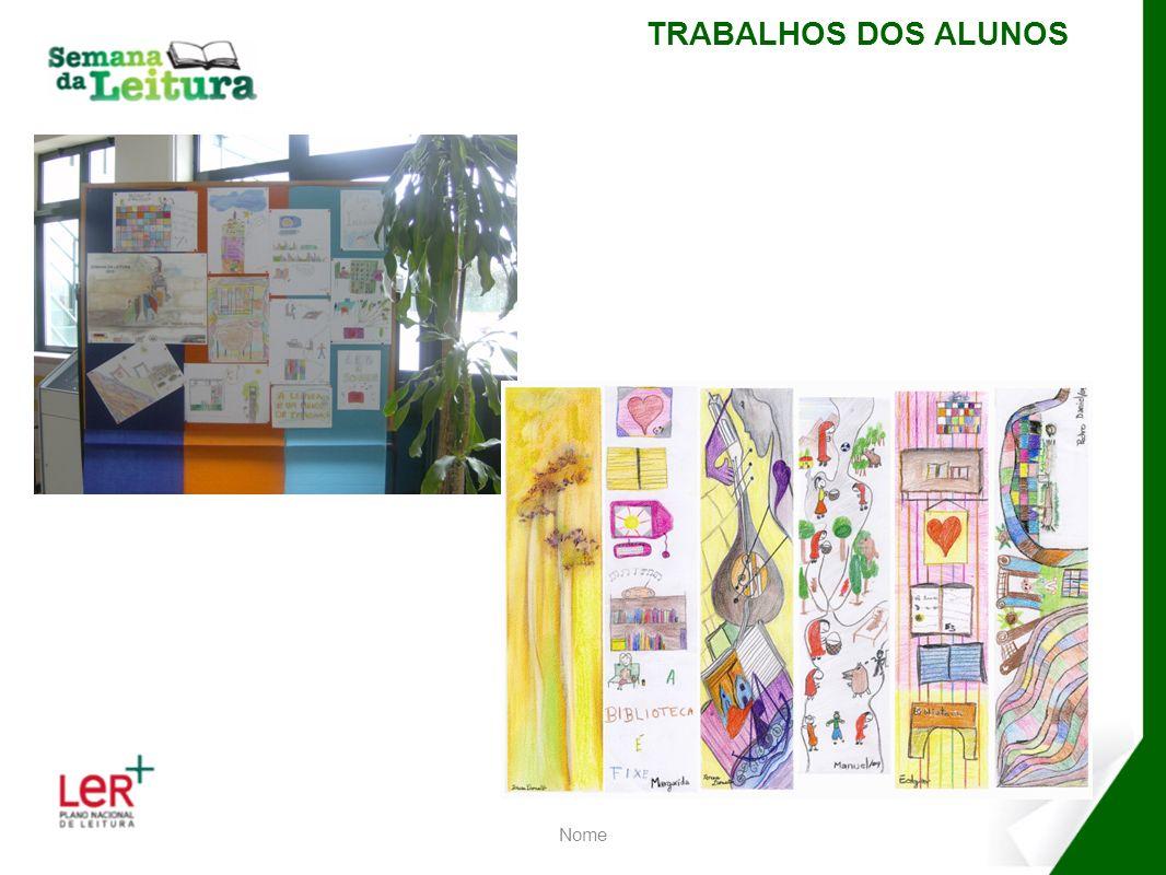 Nome COMENTÁRIOS FINAIS A semana da Leitura correu muito bem, foi muito participada, com toda a escola implicada em várias actividades.