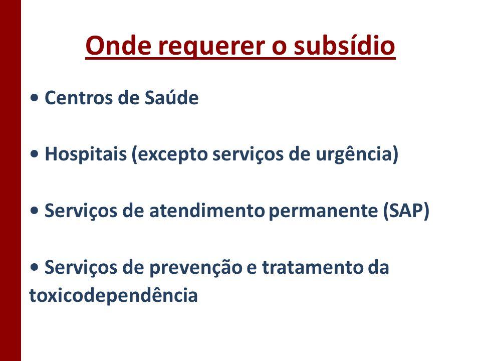 Suspensão do subsídio de doença Quando: Estiver a receber subsídio de maternidade, paternidade ou adopção.