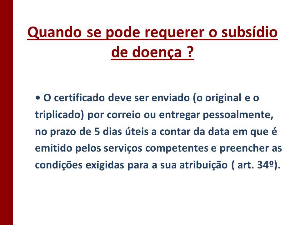 Cálculo do subsídio de doença 1) Soma todas as remunerações dos primeiros 6 meses dos últimos 8 (a contar do mês anterior àquele em que teve de deixar de trabalhar).