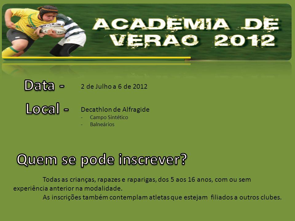 Pedro Vital -Treinador Nível 3 – Sevens nível 1 – Mestrado em Educação Física Coordenador dos escalões de formação do Clube (Sub 8 aos Sub 16).