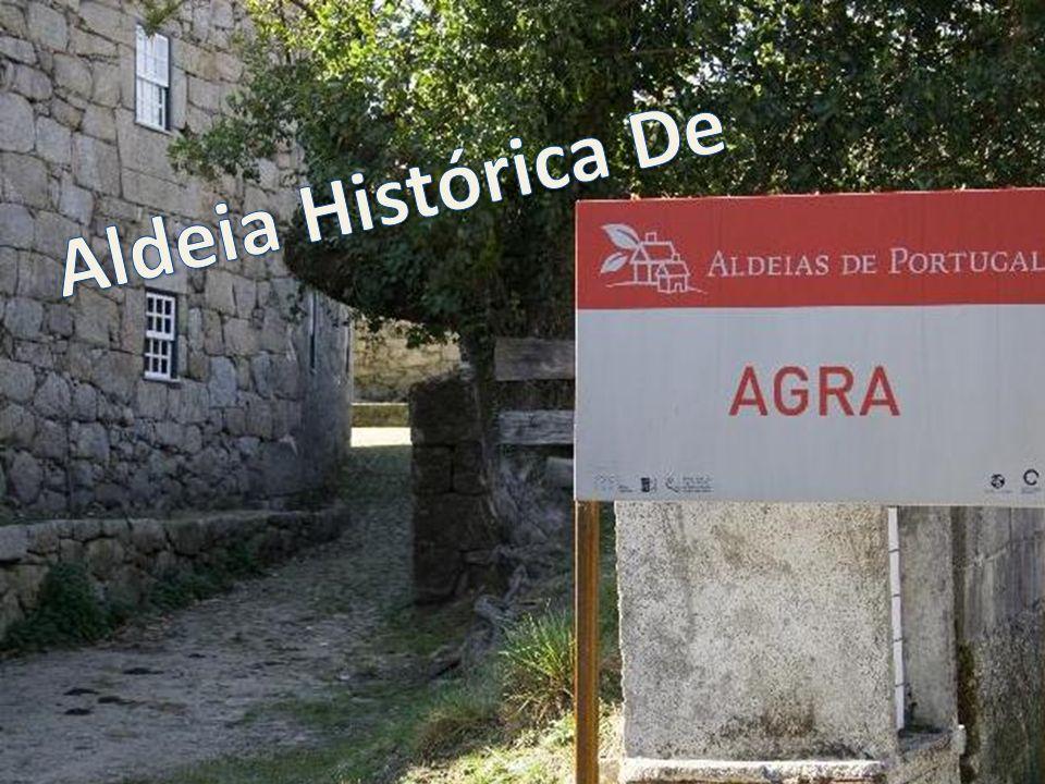 Situada na margem esquerda do Rio Ave, perto da nascente, a aldeia de Agra está inserida em plena Serra da Cabreira, pertence à freguesia de Rossas em pleno concelho de Vieira do Minho.