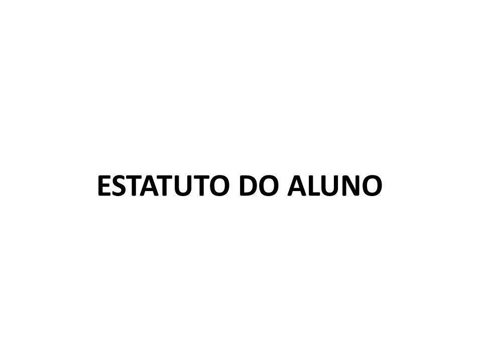 ESTATUTO DO ALUNO