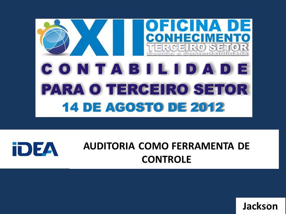 AUDITORIA COMO FERRAMENTA DE CONTROLE Jackson 1