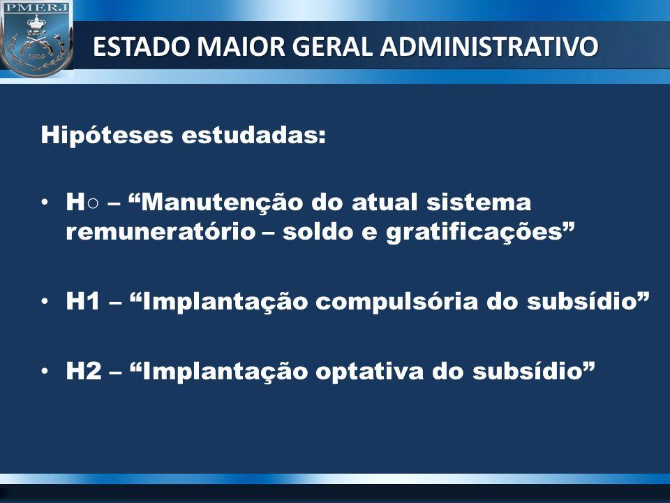 OBRIGADO ESTADO MAIOR GERAL ADMINISTRATIVO