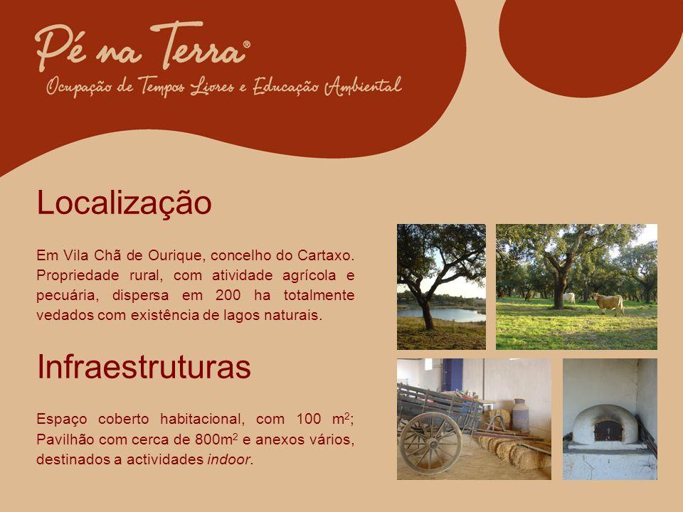 Localização Em Vila Chã de Ourique, concelho do Cartaxo.