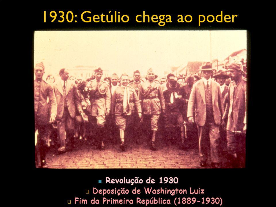 Reflexos na legislação trabalhista e sindical 1931 Criação Ministério do Trabalho, Indústria e Comércio.