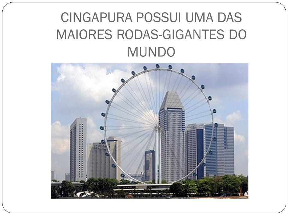 CINGAPURA POSSUI UMA DAS MAIORES RODAS-GIGANTES DO MUNDO