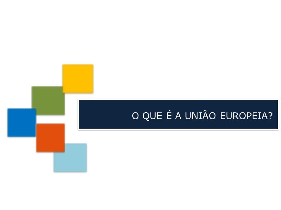 A União Europeia (UE) é… uma união de países democráticos europeus, que partilham valores comuns e que se encontram empenhados num projeto de paz e prosperidade.