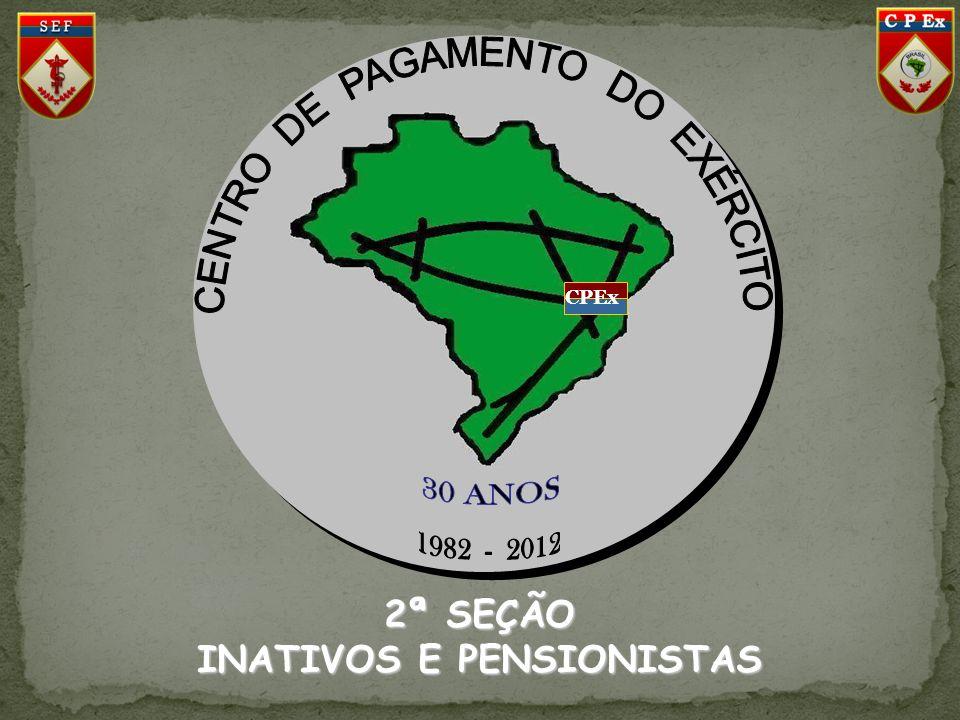 CPEx 2ª SEÇÃO INATIVOS E PENSIONISTAS