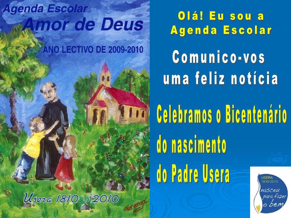 15 de Setembro: Aniversário de nascimento 16 de Setembro: Baptismo 20 de Setembro: Ordenação sacerdotal 25 de Dezembro: Chegou à Guinè Início do ano lectivo O Domingo A menina Maria Advento Imaculada Natal
