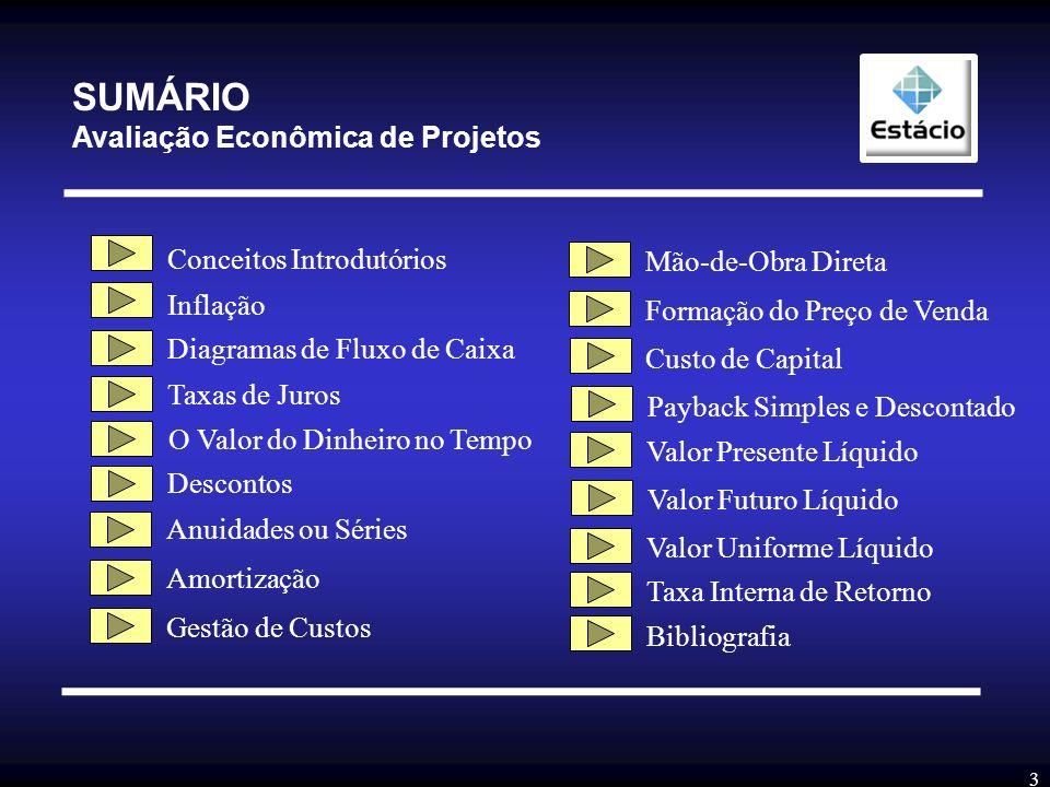 2 Avaliação Econômica de Projetos