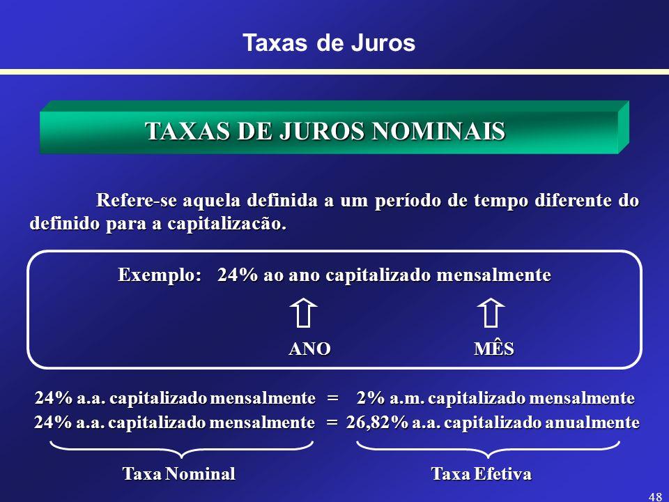 47 Taxas de Juros Fonte: http://rmnofoco.blogspot.com.br/2011/11/charge-e-os-juros.html