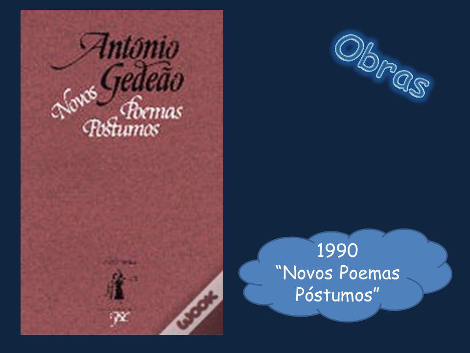 1990 Novos Poemas Póstumos