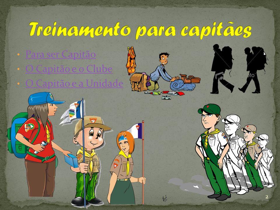 Para ser Capitão O Capitão e o Clube O Capitão e a Unidade 2