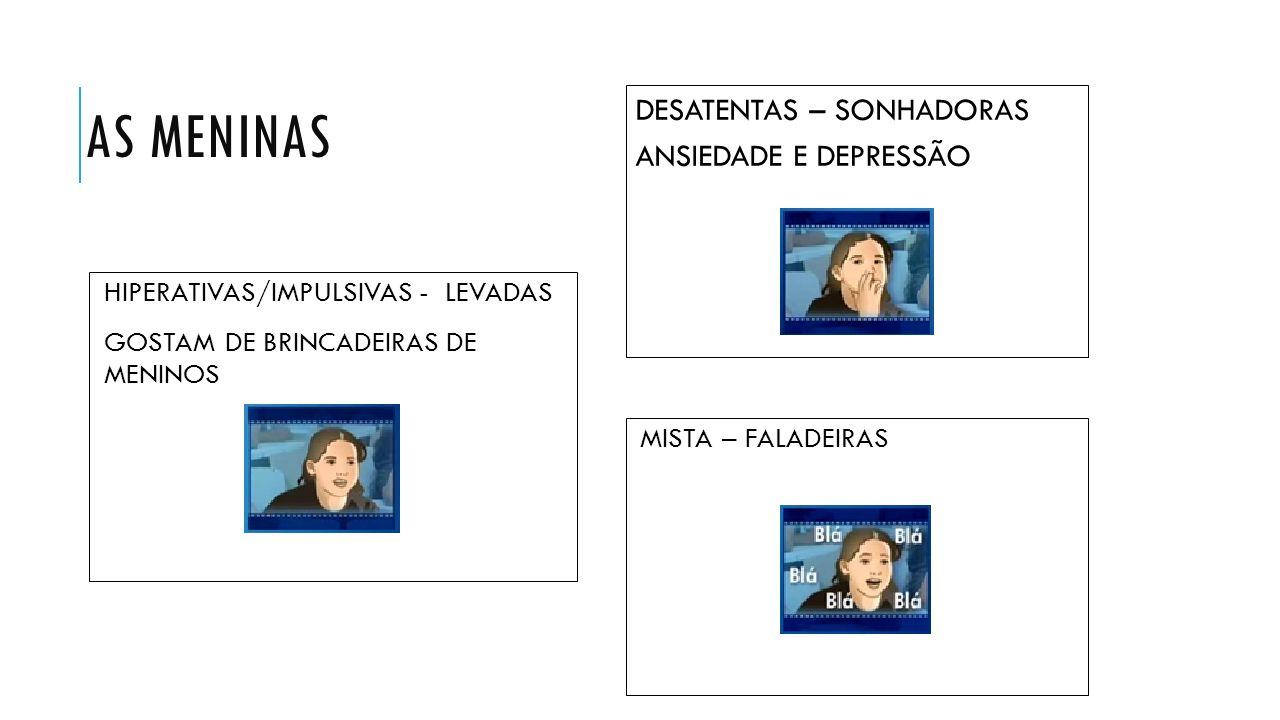 SINTOMAS DO DÉFICT DE ATENÇÃO: SENTEM DIFICULDADE EM...