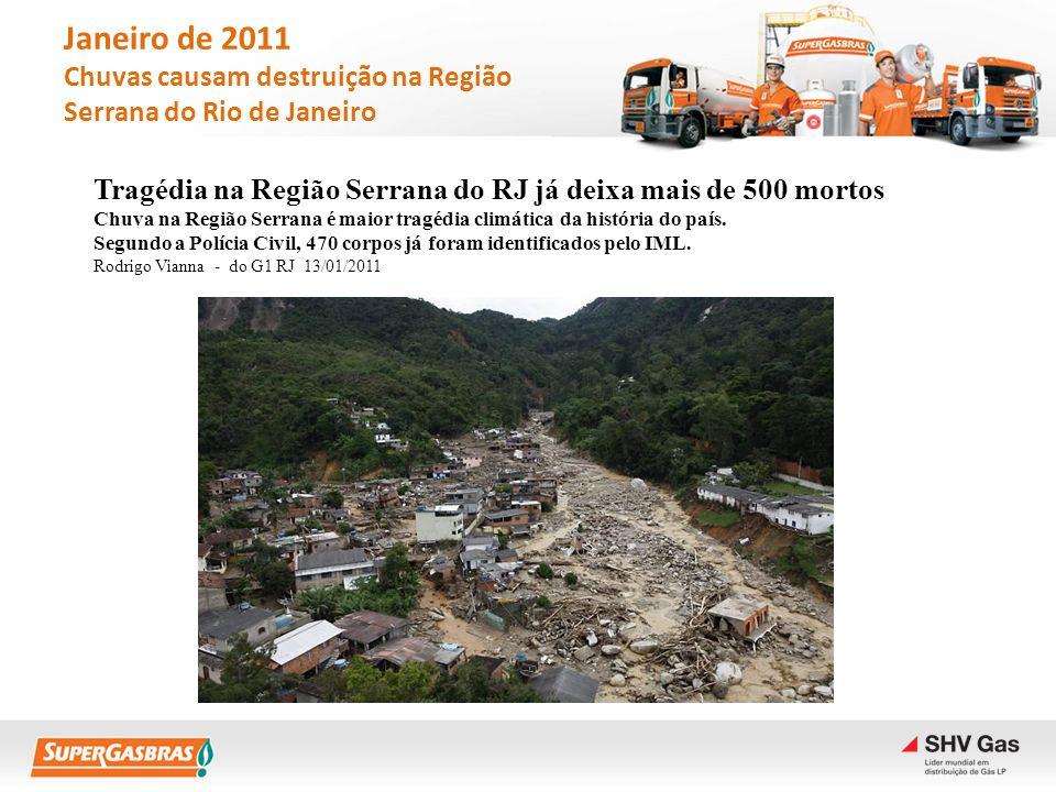 Tragédia na Região Serrana do RJ já deixa mais de 500 mortos Chuva na Região Serrana é maior tragédia climática da história do país. Segundo a Polícia