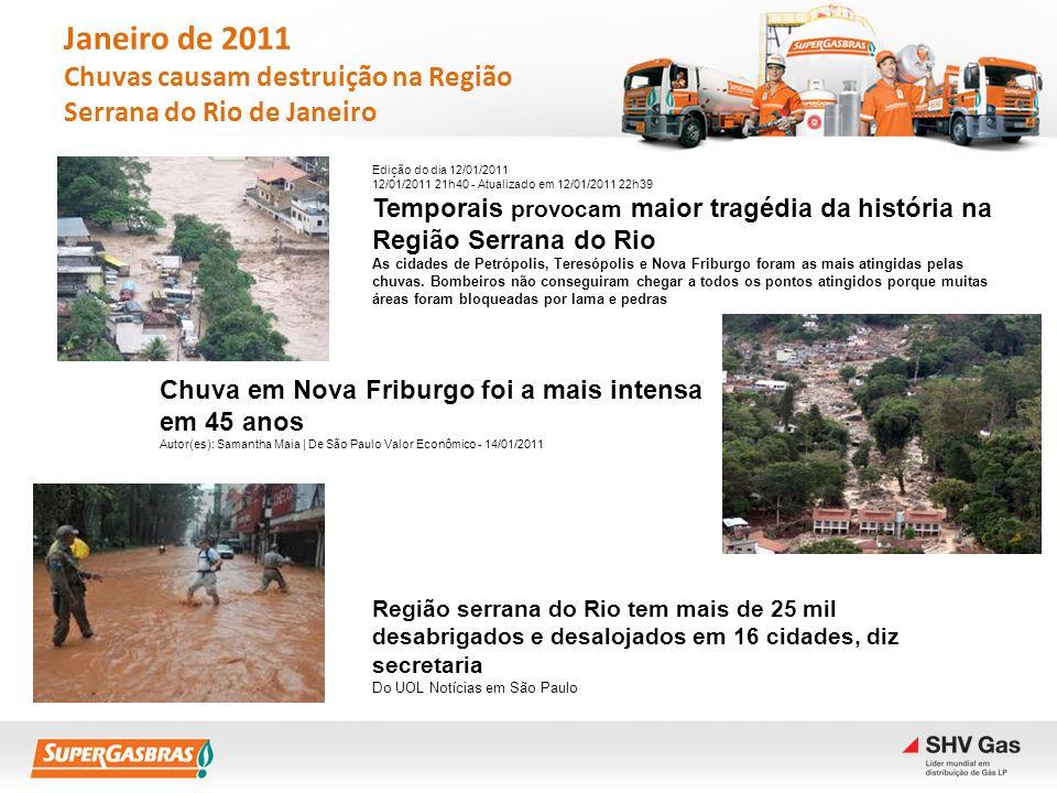 Região serrana do Rio tem mais de 25 mil desabrigados e desalojados em 16 cidades, diz secretaria Do UOL Notícias em São Paulo Chuva em Nova Friburgo