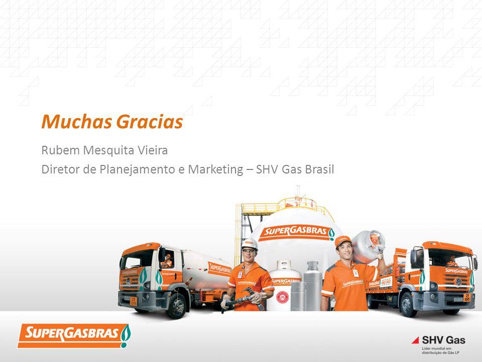 Muchas Gracias Rubem Mesquita Vieira Diretor de Planejamento e Marketing – SHV Gas Brasil