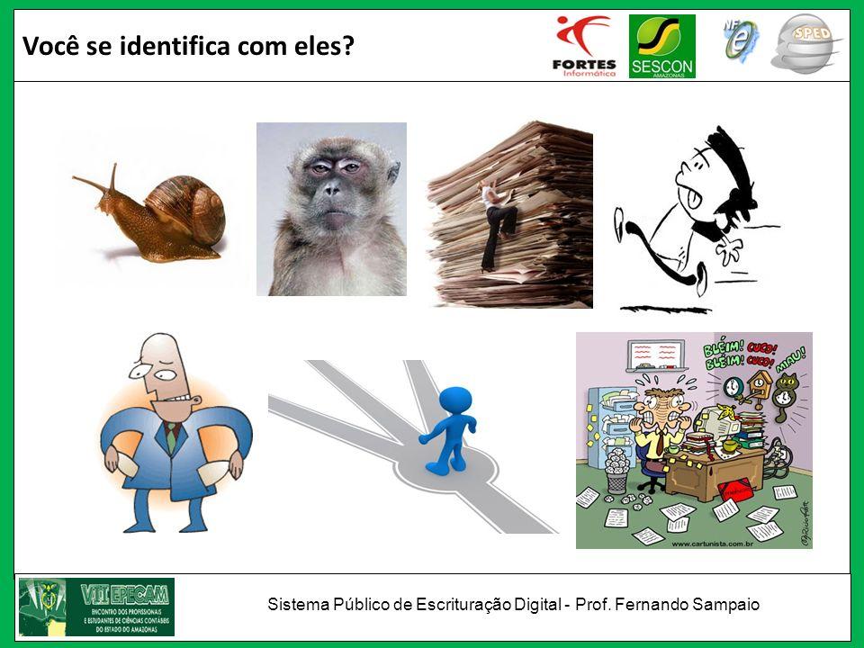 O profissional no mercado Sistema Público de Escrituração Digital - Prof. Fernando Sampaio
