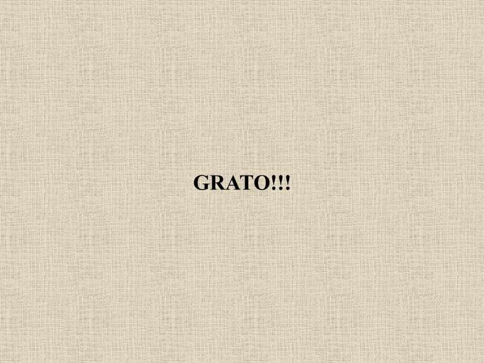 GRATO!!!