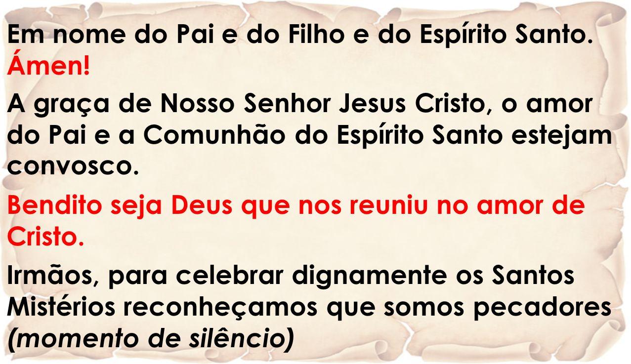 Salmo 89 (90), 3-6.12-14.17 (R. 1) SENHOR VÓS TENDES SIDO O NOSSO REFÚGIO, ATRAVÉS DAS GERAÇÕES.