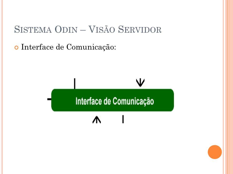 Interface de Comunicação: