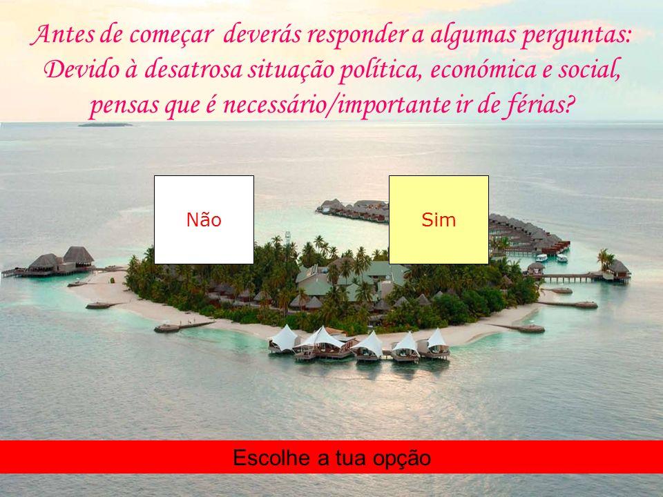 Com este programa poderás planear as tuas férias para o ano de 2013 Clica aqui para prosseguir Plano de Férias