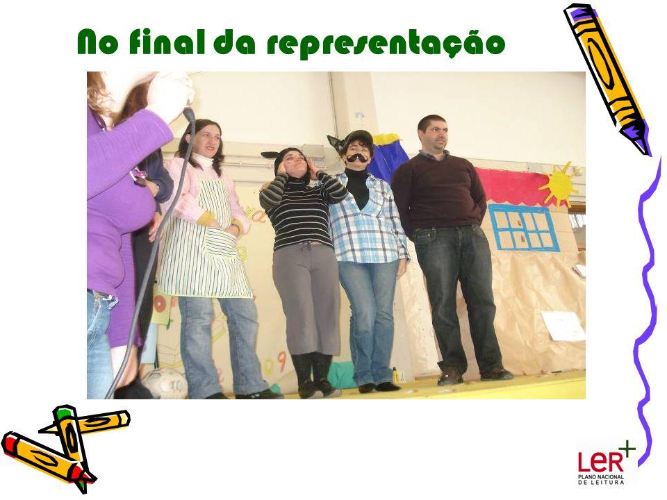 No final da representação