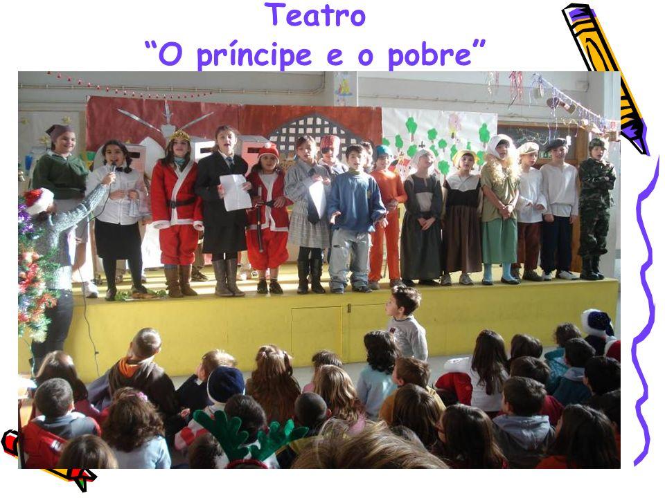 Teatro O príncipe e o pobre