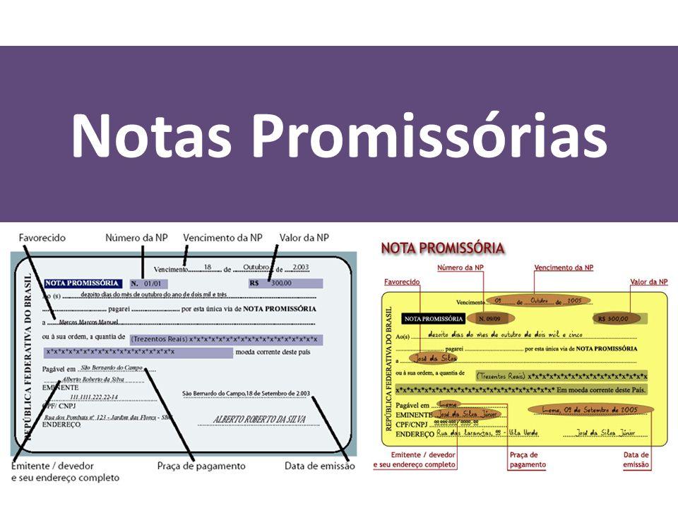 Notas Promissórias